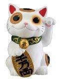 Stealstreet Maneki Neko l'argent chat porte-bonheur chinois japonais Statue