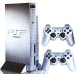 Console Playstation 2 Silver Argent