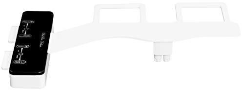 BisBro Deluxe Slim Bidet 2082 | Dusch-WC zur optimalen Intimpflege | Mit Warmwasser | Einfach unter dem Klodeckel installieren | funktioniert ohne Strom | ideale Hygiene durch Wasser