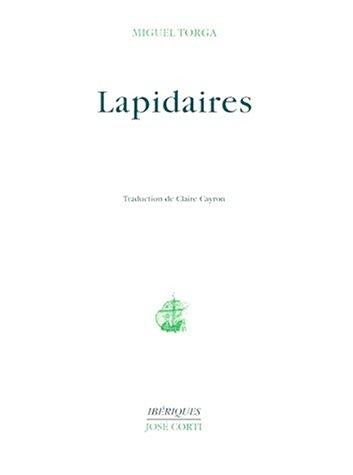 LAPIDAIRES. 2ème édition