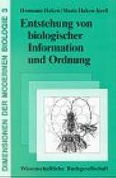Entstehung von biologischer Information und Ordnung