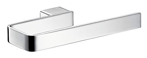 Emco Loft Handtuchhalter chrom, Handtuchhalterung zur Wandmontage, Handtuchständer offen, Länge 210 mm - 56000180