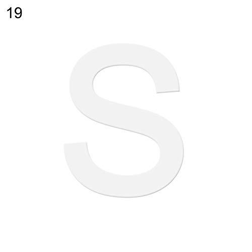 display08 Backform Alphabet A-Z Buchstaben DIY Geburtstag Kuchen Backform Werkzeug S (S Halloween Buchstaben)