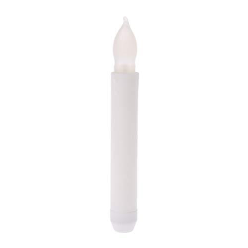 ruiruiNIE Flammenlose LED Kerze Flackerndes Teelicht Batteriebetriebenes Hochzeitsfestdekor