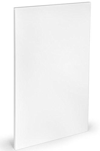 Infrarot Heizung - Infrarot-Heizplatte Heizpaneel Classic weiß, rahmenlos - 950 Watt