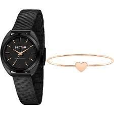 Sector No Limits - R3253518514 - Montre Femme - Collection 955 - Bracelet PVD Or Rose