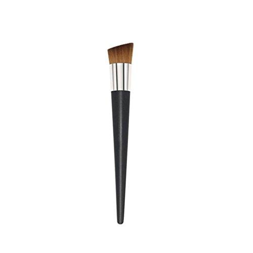 Nouveaux Pro Multipurpose Liquid Visage Blush Brush Foundation cosmétiques Outils de maquillage (noir)
