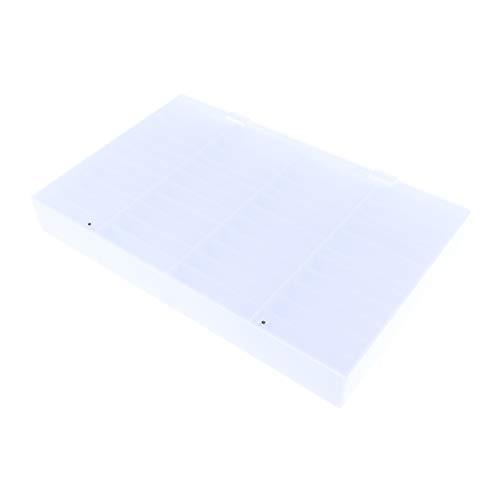 Sharplace 44 Compartiments Boîte Vide Rangement Faux Ongles Capsule Nail Art Manucure Plastique Stockage