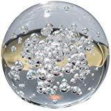 JWBOSS 8 cm Künstliches Kristallglas Kugel Kugel Blase Transparent Selten Klar Startseite Hochzeit Figuren Dekoration De (Kleine Glaskugel Klare Ornamente)