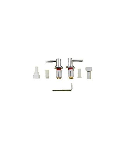 Pozzi Ginori 41969 kit cerniere per sedile Easy/500 cromo