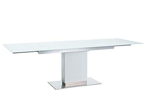 Sellon24/Signal Horizon - Mesa de comedor extensible (160 (240-90 ...