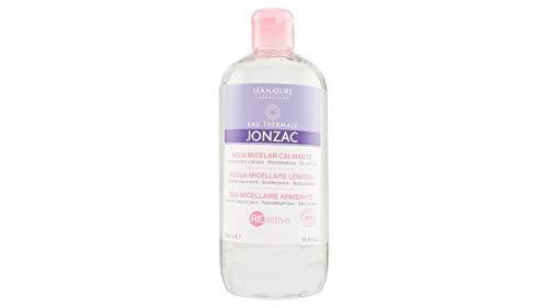 JONZAC - REACTIVE - Acqua micellare lenitiva per Viso e Occhi - a base di Acqua termale di Jonzac - indicata per pelli sensibili - elimina impurità e tracce di make up - Biologica - 500 ml