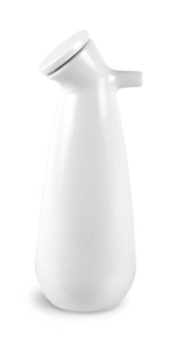 Authentics 20046 Snowman Grande bouteille en porcelaine pour huile d'olive/vinaigre Blanc 225 ml