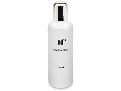 100ml ACRYL FLÜSSIGKEIT Liquid EASY - HÄRTET LANGSAM - Nageldesign Acryl Modellage Zubehör in Studioqualität - MADE IN GERMANY