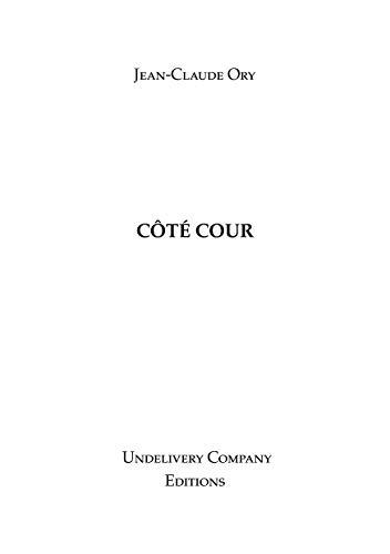 Couverture du livre CÔTÉ COUR