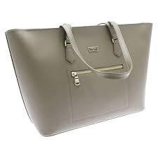 patrizia-pepe-candy-cadillac-shopper-bolso-totes-piel-37-cm-uniform-grey