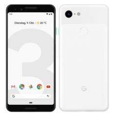 Google Pixel 3 14 cm (5.5') 4 GB 64 GB SIM única 4G Blanco 2915 mAh - Smartphone (14 cm (5.5'), 4 GB, 64 GB, 12,2 MP, Android 9.0, Blanco)