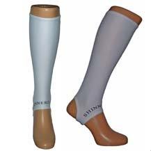 Shinnerz Unterschenkelstrümpfe, zum Tragen unter Schienbeinschonern, Shinnerz Inner Sock, weiß, 8-12 Jahre -
