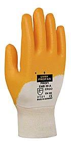 Uvex 601488Profi Ergo enb20Sicherheit Handschuh, Größe: 8, weiß, ()
