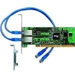 Intel Pro/1000MT Netzwerkkarte (PCI-e, 2x LAN 10/100/1000TX)