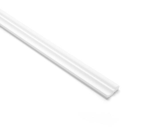 NMC Nomastyl® Plus Zierprofil D, 50 x 40 mm (Preis je Meter) INKL EINEM FLACHPINSEL JE BESTELLUNG
