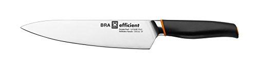 BRA Efficient - Messer Kochmesser 3x5x32 cm grau