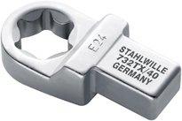 Stahlwille 732tx/40-e24Torx insérer Outil, 13mm de hauteur, 30.5mm de largeur, taille 40, Torx Taille E24