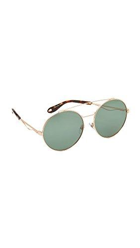 Givenchy gv 7048/s el ddb, occhiali da sole donna, oro (gold copper/brown), 62