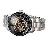 Etbotu Multi Farbe Luxus Ik 98226 Edelstahl Automatische Skeleton Mechanische Armbanduhr Hohl Herrenuhren Pbao Babytrage (Style8)