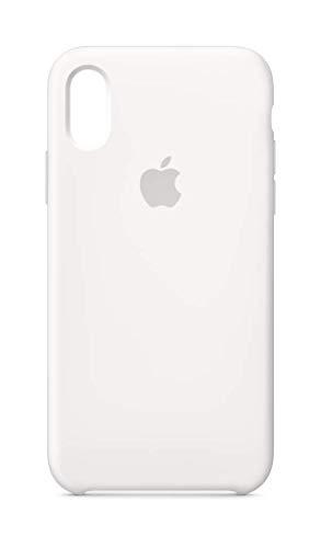 Apple Silikon Case (IphoneXs) - Weiß