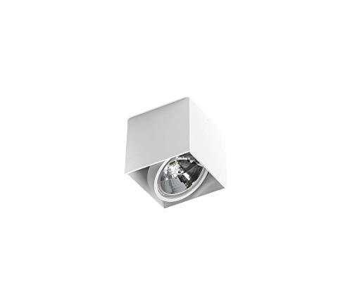 Moderna Lámpara de techo 1x 50W/QR111Alex gm4112WH Azzardo