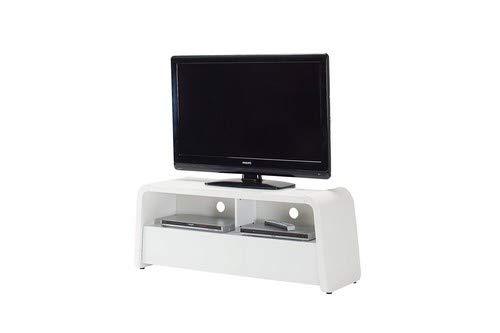 Bois 7/unit/és Pieffe Mobili Oignon Porte TV Blanc 120/x 42/x 50/cm