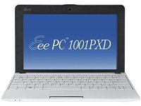Asus EEEPC 1001PXD-WHI020S 25,9 cm (10,2 Zoll) Netbook (Intel Atom N455, 1,6GHz, 1GB, 250GB HDD, Intel 3150, Win 7 Starter) weiß