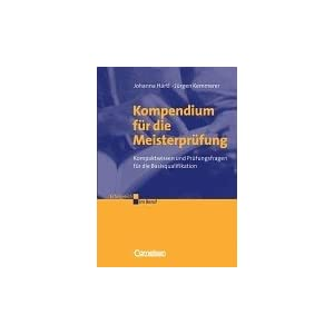 Jetzt herunterladen pdf Kompendium für die Meisterprüfung