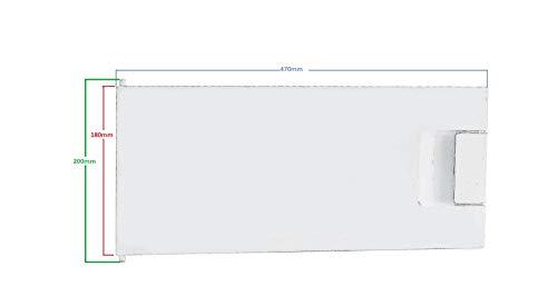 Gefrierfachtür komplett 00447344 447344 Bosch, Siemens, Neff, Küppersbusch