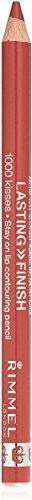 Rimmel London 1000Kisses Lip Liner, Wild Clover 1ea, Pack of 2