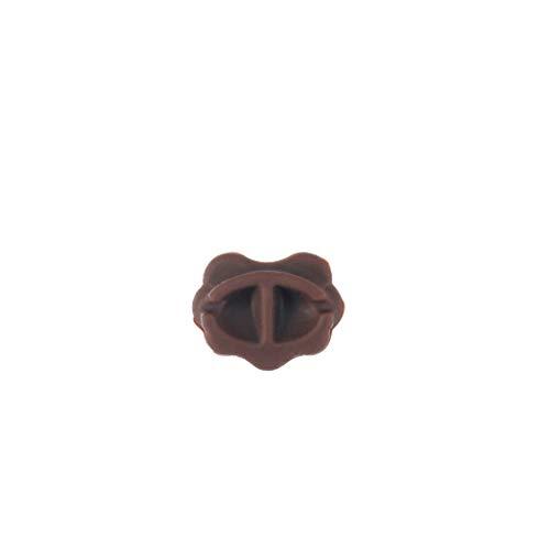 Webla - 1 Stück Erhu Nano Composite-Filterpad Unterseite Brauner Schlitz-Vakuumfilter Erhu-Gummi für Schallfilter für Zubehör für Saiteninstrumente