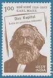 Sams Shopping Karl Marx Personality Philosopher Economist Sociologist Historian Journalist Socialist Book Literature Das Kapital RS 1 Stamp