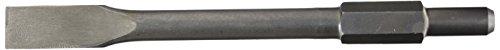 Scheppach 3908201108 Zubehör Flachmeißel, passend für den AB1600 Abbruchhammer, Durchmesser 30 mm, L 390 mm