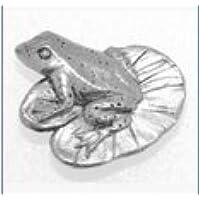 Scatola Regalo Peltro Pin Rana Stemma o Spilla Regalo per Sciarpa, Cravatta, Cappello, Cappotto O Sacchetto - Gioielli Della Rana Pin