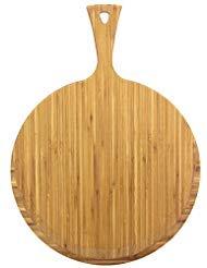 Unbekannt Totally Bamboo ba202280Pizzaheber Greenlite mit Griff, Bambus, Holz, 43x 33x 1cm (Totally Bamboo Schneidebrett)