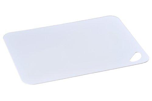 Kesper - Tagliere da cucina, in plastica, colore: Bianco bianco