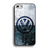 Water Drop Background Design Volkswagen Phone hülle Handyhülle Cover for Iphone 6/6s 4.7 (Inch) VW Volks Stylish,Telefonkasten SchutzHülle