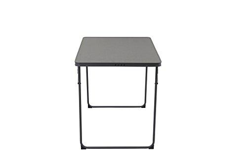Portail extérieur Unisexe Rock Table de Camping Pliable, Gris, 60 x 80 x 69.5 cm