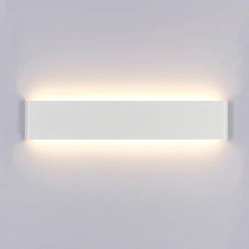 Yafido Aplique Pared Interior LED 14W Lámpara de pared Moderna Blanco Cálido Perfecto para Salon Dormitorio...