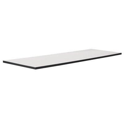 Glas Top Für Desk (PHOENIX 616231WES Tischplatte Chicago, passend zur gesamten Chicago