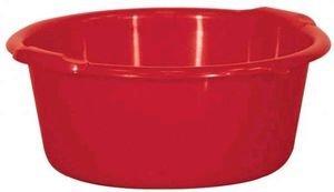 ALUMINIUM ET PLASTIQ Bassine Ronde 11l d38x16cm Rouge