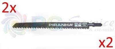 BLACK & DECKER 2x LAMA SEGHETTO PIRANHA SEGA POTATORE GKC108 10.8v 90185996