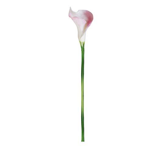 efälschte Blume Calla-Lilie Latex Material Real Touch für Hochzeitszimmer Home Hotel Party Dekoration und DIY Decor ()