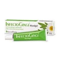 InfectoGingi Mungel Spar-Set 3x6g. Bei ENtzündungen und Wunden im Mundbereich. Wirkt schmerzlindernd und heilend. Mit Salbei und Kamille. - Kamille Salbei